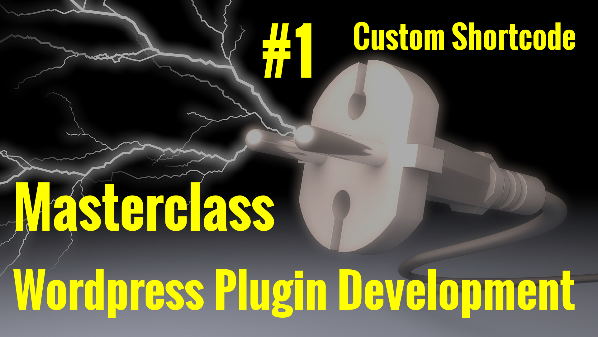 WordPress Plugin Development Course